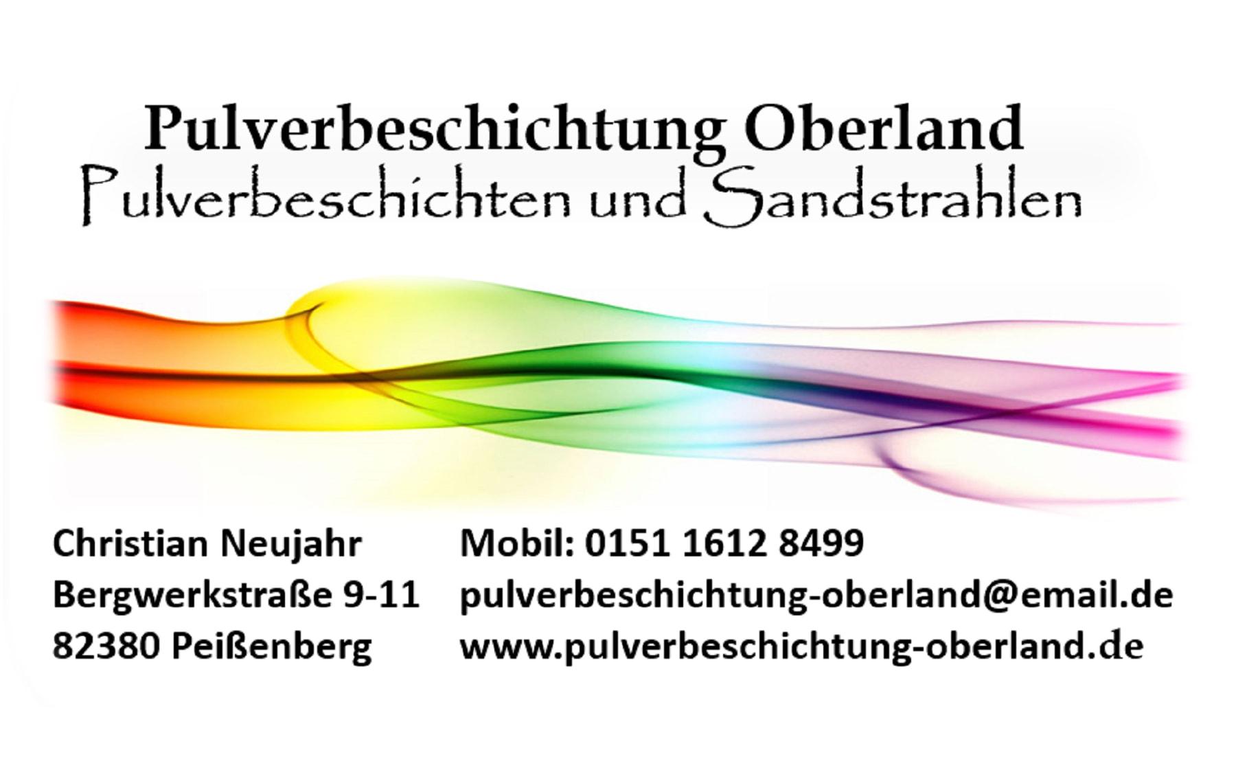 Logo - Pulverbeschichtung Oberland