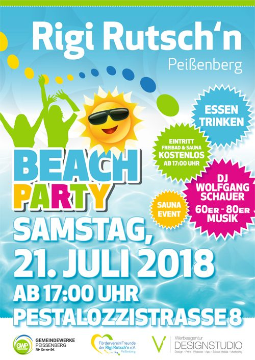 Beach Party 2018 Flyer